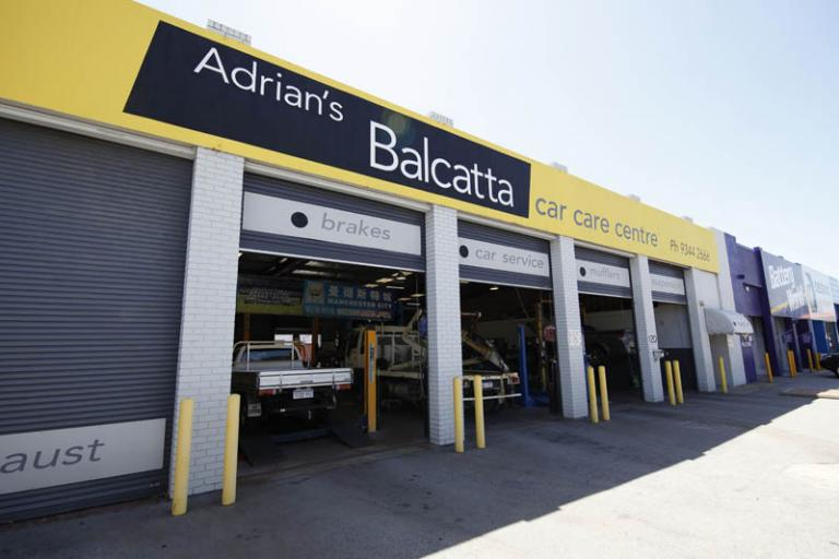 photo of the storefront of adrian's balcatta car care centre
