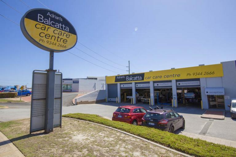 adrian's balcatta car care centre store front at 120 erindale rd balcatta wa 6021 australia